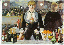E Manet - Bar at the Folies-Bergere - MEDICI POSTCARDS