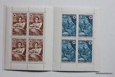CARNET DE 8 TIMBRES - EMISSION AU PROFIT DE LA CROIX-ROUGE FRANCAISE - 1969