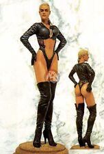 "Legend 150mm (1/12) ""Black Cat"" Woman in Black Leathers [Resin Figure] LF1502"