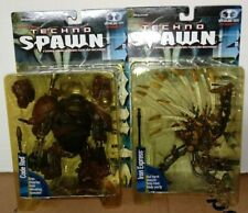 Vintage Techno Spawn Figure Lot CODE RED and IRON EXPRESS MOC!