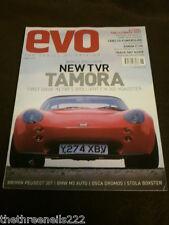 EVO MAGAZINE # 32 - TVR TAMORA - JUNE 2001