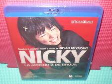 NICKY LA APRENDIZ DE BRUJA - MIYAZAKI - BLU-RAY