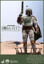 "Star Wars Boba Fett 18"" Hot Toys 1/4 Scale Special Figure Qs003b"