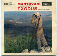 Mantovani ‎– Plays The Theme From Exodus And Other Themes [MDFE 6671] 7″ 45 RPM