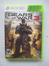 Gears of War 3 - Xbox 360 COMPLETE FREE SHIPPING