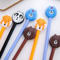 6Pcs Creative Lovely Cartoon Animal Gel Pens Office School Supply Stationery New