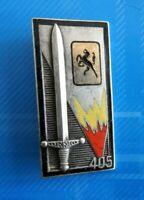 #2450# Insigne 405° Bataillon de Commandement et Services de fabrication Drago