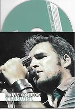 ROEL VANDERSTUKKEN - De tijd staat stil CD SINGLE 2TR CARDSLEEVE 2007 BELGIUM
