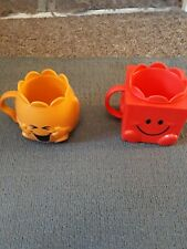 McDonalds Happy Meal Toy UK 2020 Mr Men Little Miss Cups / Beakers