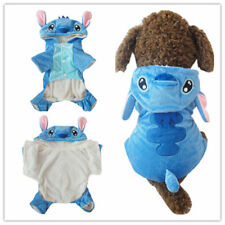 Pet Dog Halloween Clothes Stitch Coat Puppy Cat Cartoon Costume Winter Xmas Gift