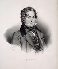 Charles Nodier Schriftsteller Romantik Frankreich Napoleon Royalist Victor Hugo