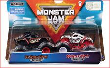 2 TRUCKS - Monster Jam MONSTER MUTT ROTTWEILER vs Monster Mutt DALMATION 🌟NEW🌟