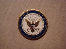 RARE MILITARY CHALLENGE COIN UNITED STATES NAVY CARING TO SERVE SERVING TO CARE