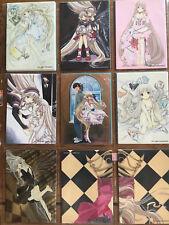 CLAMP Chobits set de 13 cartes cards de collection dont 1 box card speciale