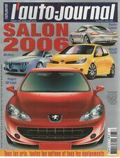 L'AUTO JOURNAL 2005 677 SALON DE L'AUTOMOBILE TOUTES LES VOITURES DU MONDE 2006