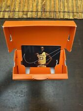 Nike labron James Caja de tarjeta de regalo cobrable Los Angeles Lakers baloncesto de la NBA