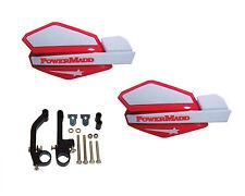 Powermadd Star Series Handguards Guards Red / White Snowmobile Ski Doo Summit