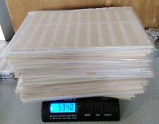 lot de feuilles d'album pour timbres