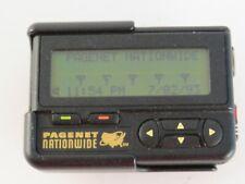 vintage retro belt phone cellular pager 90s Pagenet Nationwide black Motorola