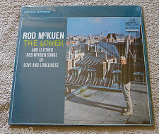 Rod McKuen 1966 RCA Stereo LP The Loner & 13 Other Songs of Love & Loneliness NM