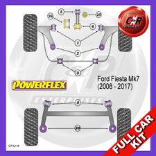 Ford Fiesta Mk7 (08-17) Lower Engine Mount Oval Powerflex Complete Bush Kit