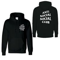 ANTI SOCIAL SOCIAL CLUB UNISEX Hoodie new long sleeve Hood
