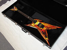 DEAN Razorback Explosion LEFTY electric GUITAR new DIME Graphic Top w/ CASE
