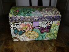 "Punch Studio Lavender Soaps in Musical Trinket Box~""Blue Danube Waltz""~New"