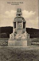 1924 Stempel AK Hilter Teutoburger Wald Kriegerdenkmal Krieger Denkmal Statue