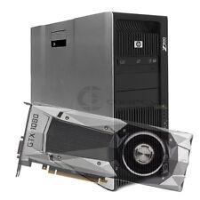HP Z800 Computer / Desktop 24GB RAM/ 2TB HDD/ PNY GTX 1080 8GB / Win10