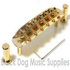 Jaguar guitar bridge (Mustang Jazzmaster) in gold