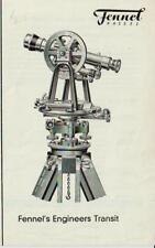 Original Fennel Kassel Engineers Transit Sales Ad Sheet - Surveying