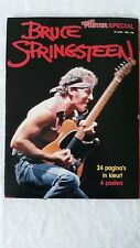 Bruce Springsteen booklet in Dutch from 1985 - 24 pages in colour - 4 posters
