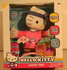 Hello Kitty Dance Time Dancing Animated Plush Doll -2 Musical Songs Tunes-