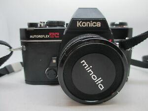 Konica Autoreflex TC 35mm film SLR w/ Hexanon AR 40mm f/1.8 lens
