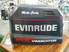 EVINRUDE VINDICATOR 200 225 ENGINE COWLING HOOD COVER 0284760