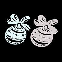 Stanzschablone Kugel Ball Weihnachten Neujahr Oster Hochzeit Geburtstag Karte