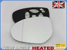 Wing Mirror Glass For MAZDA 2 3 6 2007-2015 Aspheric HEATED Left side #JM025
