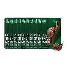 TOSOWOONG Pure Snail Mask Sheet Anti-Wrinkle Mask 10pcs SET