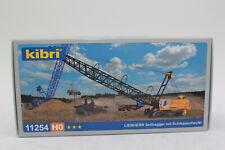 Kibri 11254 Liebherr Crawler Crane With Drag Bucket 1:87 H0 New IN Boxed