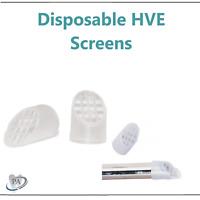 Dental Disposable HVE Screens (For high-volume aspirators to trap debris), 100Bg