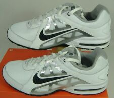 New Mens 14 NIKE Air Max Sonic White Black Heel Compression Running Shoes $85