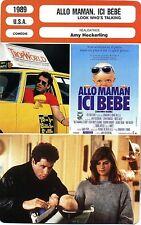 Movie Card. Fiche Cinéma. Allo maman, ici bébé / Look Who's Talking (USA) 1989