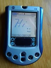 New listing Palm M130 Blue Handheld Color Pda with power supply/docking station
