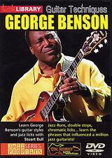 Lick Library: George Benson Guitar Techniques Guitar DVD (Region 0) Instrumental