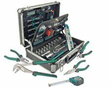 NEU??Brüder Mannesmann 29067 Green Line Aluminium-Werkzeug-Koffer Set 90-teilig