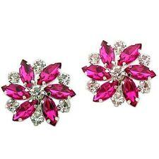 """Jewelled Shoe Clips, Shoe Jewels, Bridal Prom Shoe Accessories (1 Pair) """"Ellen"""