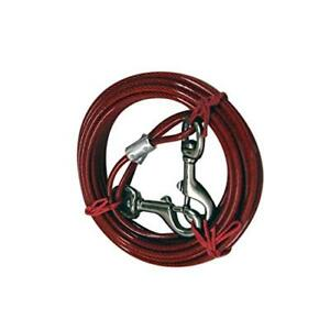 2 Pack IIT 99914 Dog Tie-Out Cable - 20 Feet