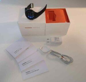 @@@ HUAWEI Watch 2 LTE 45 mm schwarz am Sportarmband carbon black - Wi-Fi + 4G