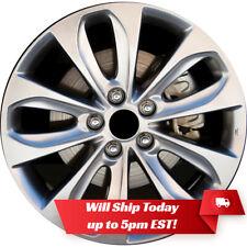 "New 18"" Hyper Silver Alloy Wheel Rim for 2011 2012 2013 2014 Hyundai Sonata"